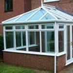 UPVC conservatory