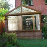 brown conservatory
