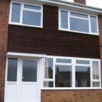 double glazing and front door