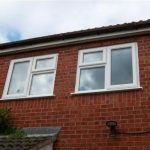 UPVC white double glazed windows