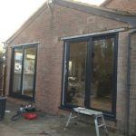 Grey window frames market harborough