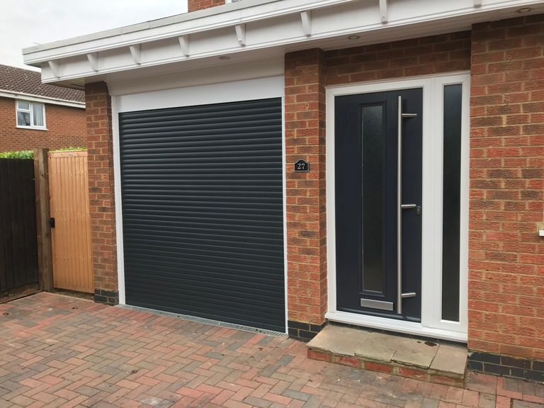 Matching garage and front door fitted in Northampton